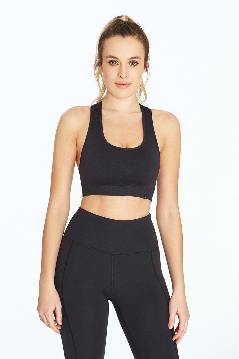Hayley Sport Bra (Black)