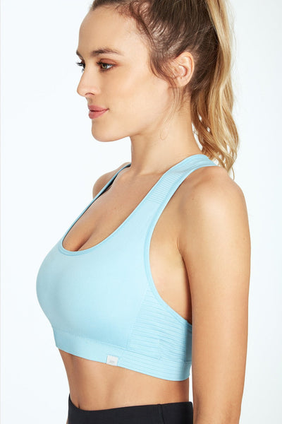 Hayley Sport Bra (Dream Blue)