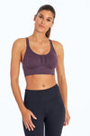 Robbie Seamless Sport Bra (Sweet Grape)