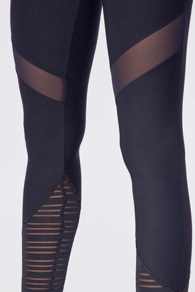 "Chrissy 25"" Legging (Black)"