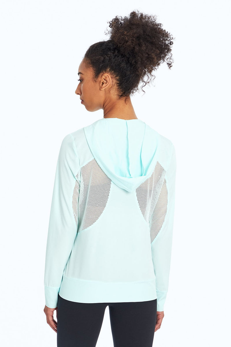 Back Me Up Jacket (Fair Aqua)
