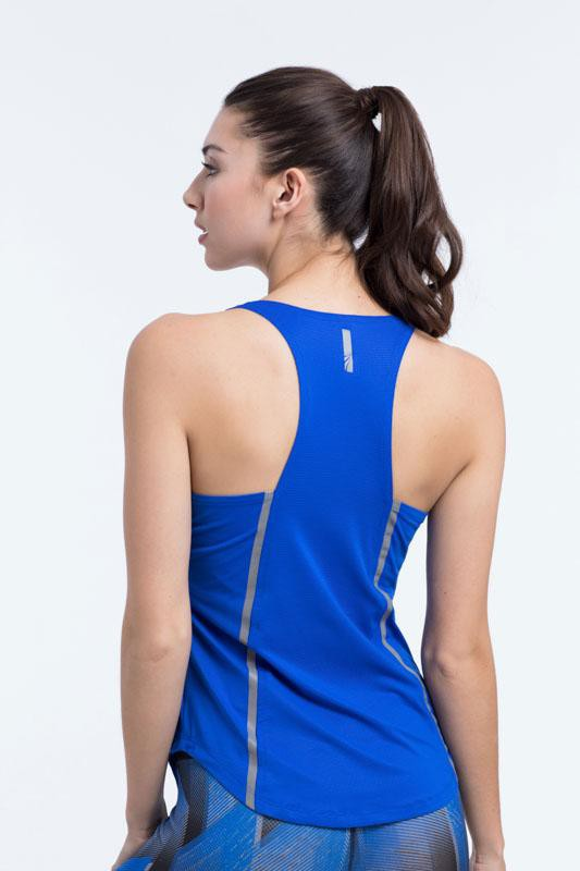 Infinity Singlet (jungle blue)