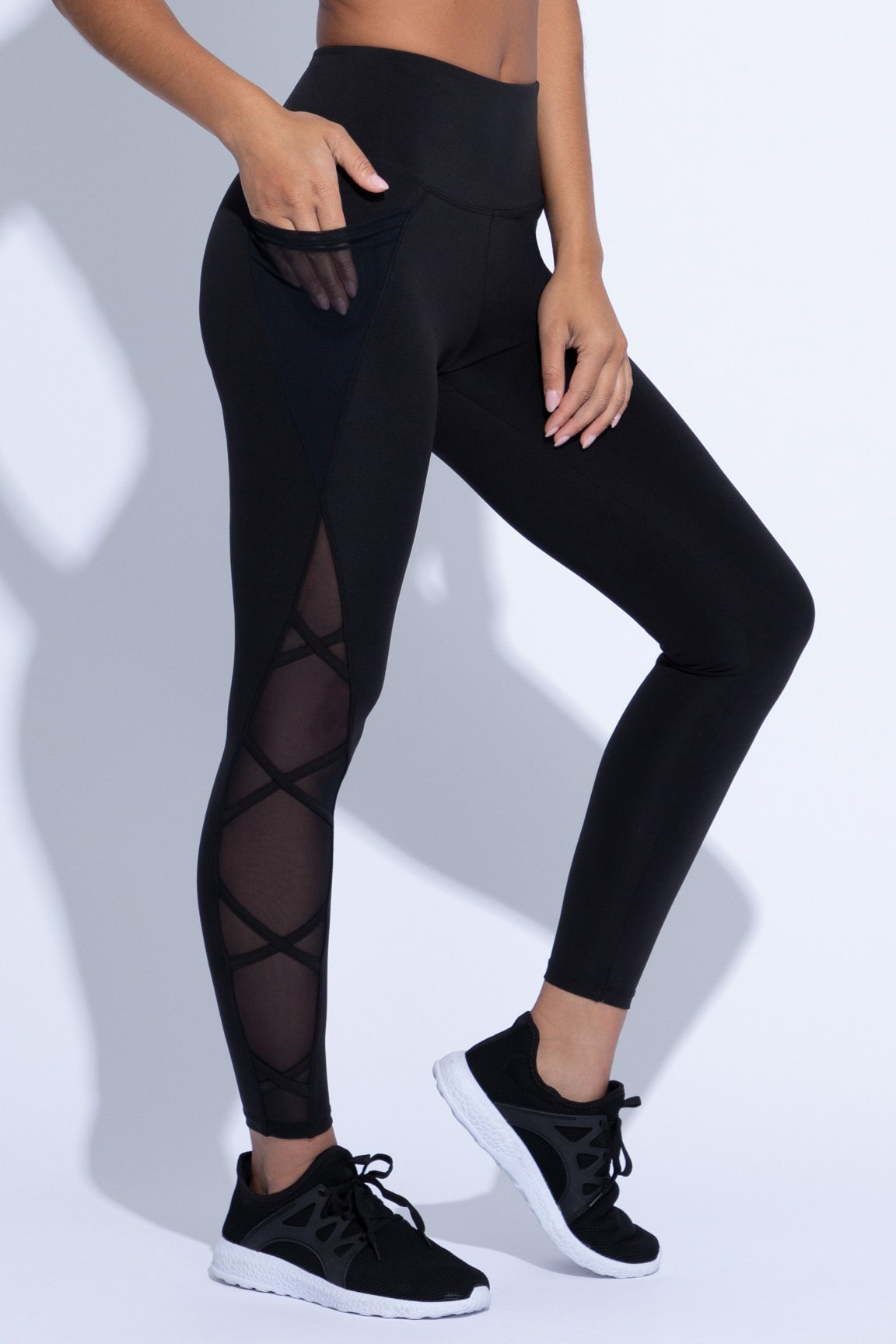 Candace Shape Enhancing Legging (black)