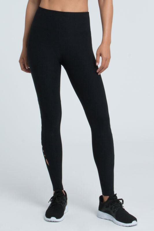 Josie Lace Up Ankle Legging (black)