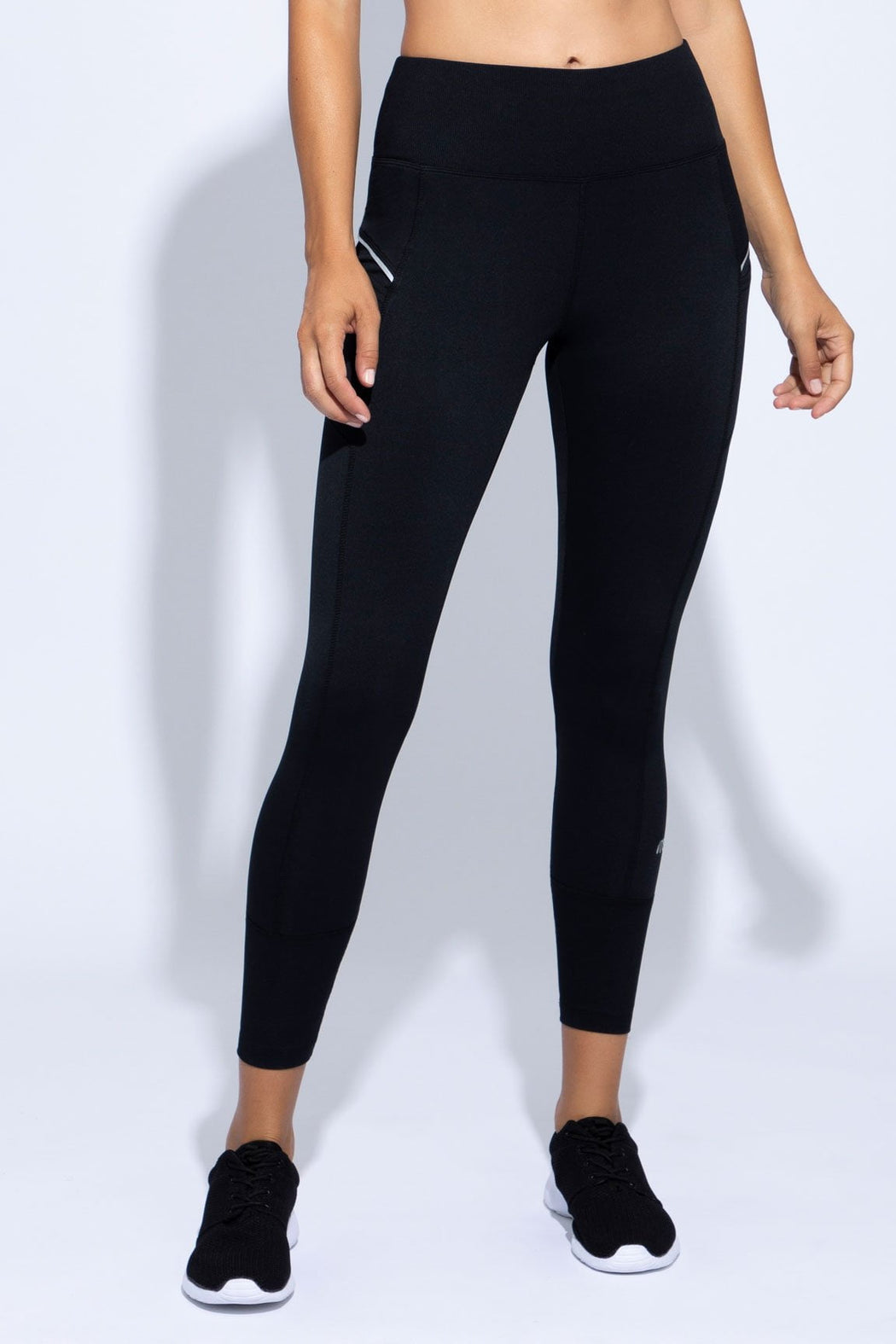 Jordan Rib Trim Legging (black)
