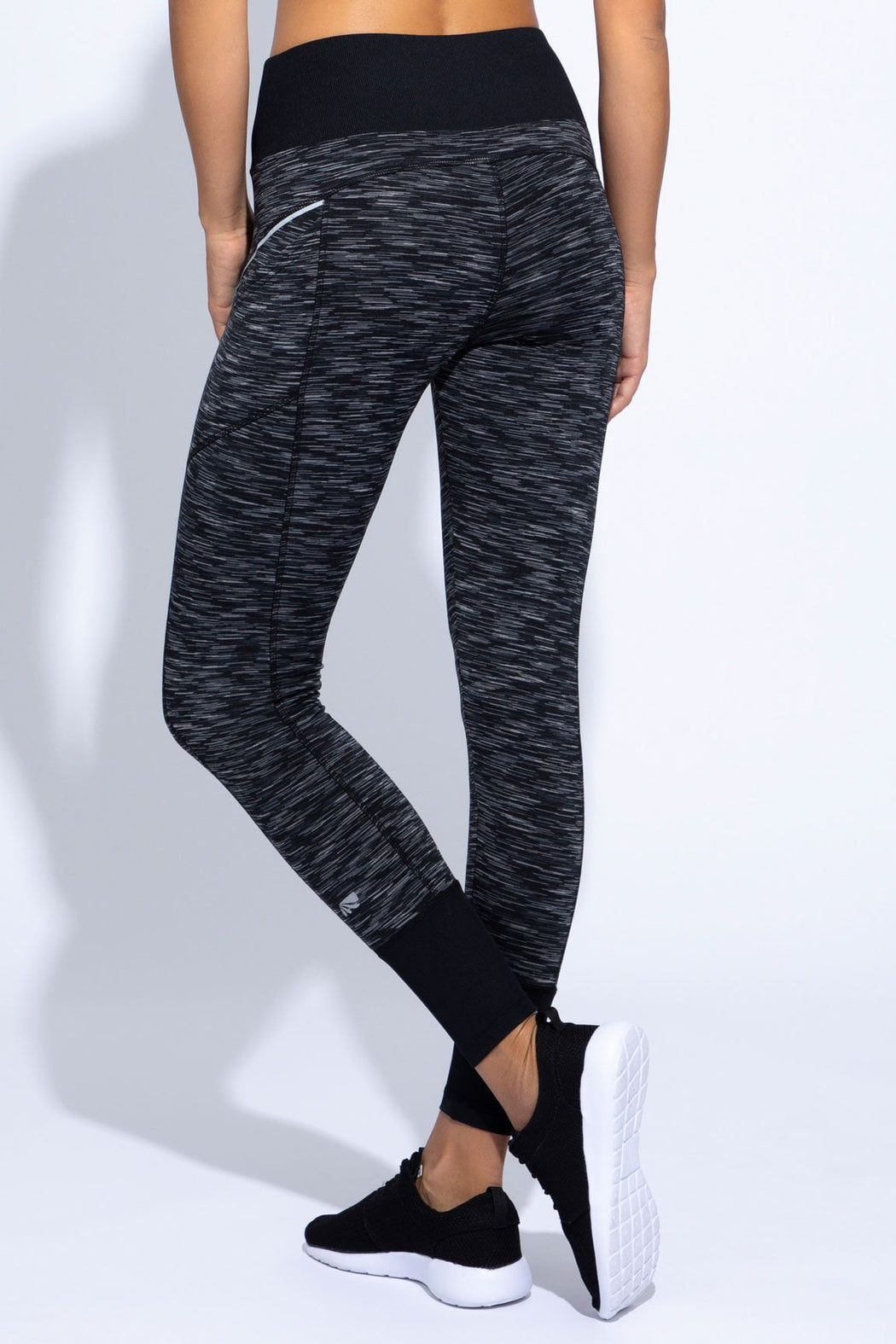 Jordan Rib Trim Legging (black iron gate)