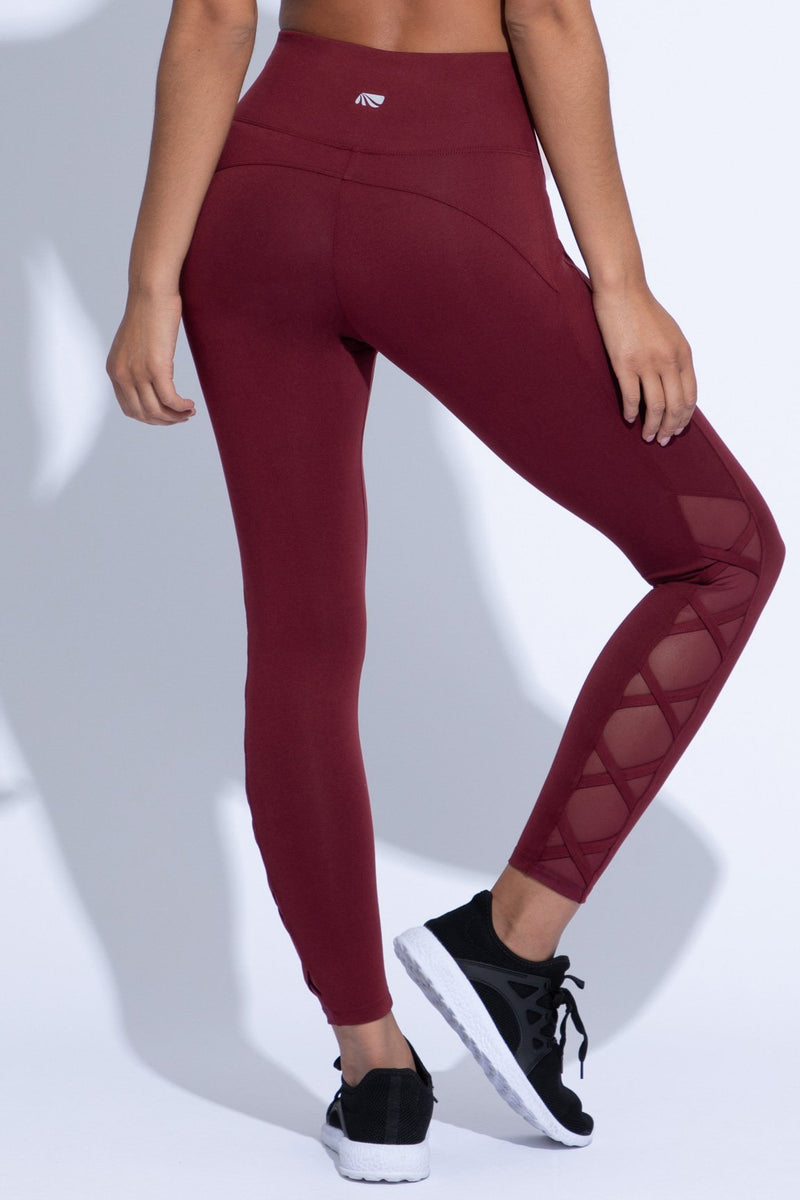 Celeste Ankle Legging Shape Enhancing (tawny port)