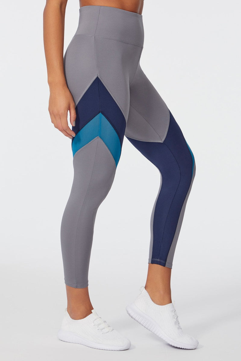 Shayla Legging (QUIET SHADE/NAVY BLAZER)