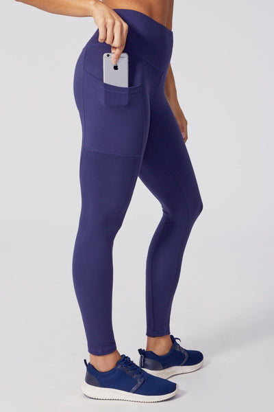 Evita Embroidered Legging (Eclipse)