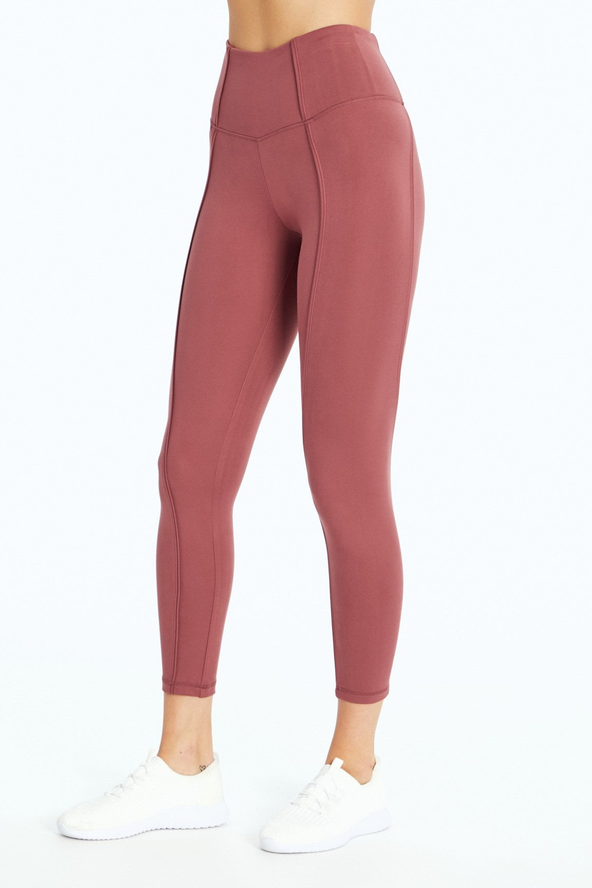 Olivia Ankle Legging (Crushed Berry)
