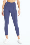 Olivia Ankle Legging (Crown Blue)