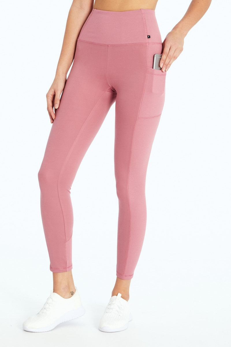 Ivanna Ribbed Legging (H. Rose)