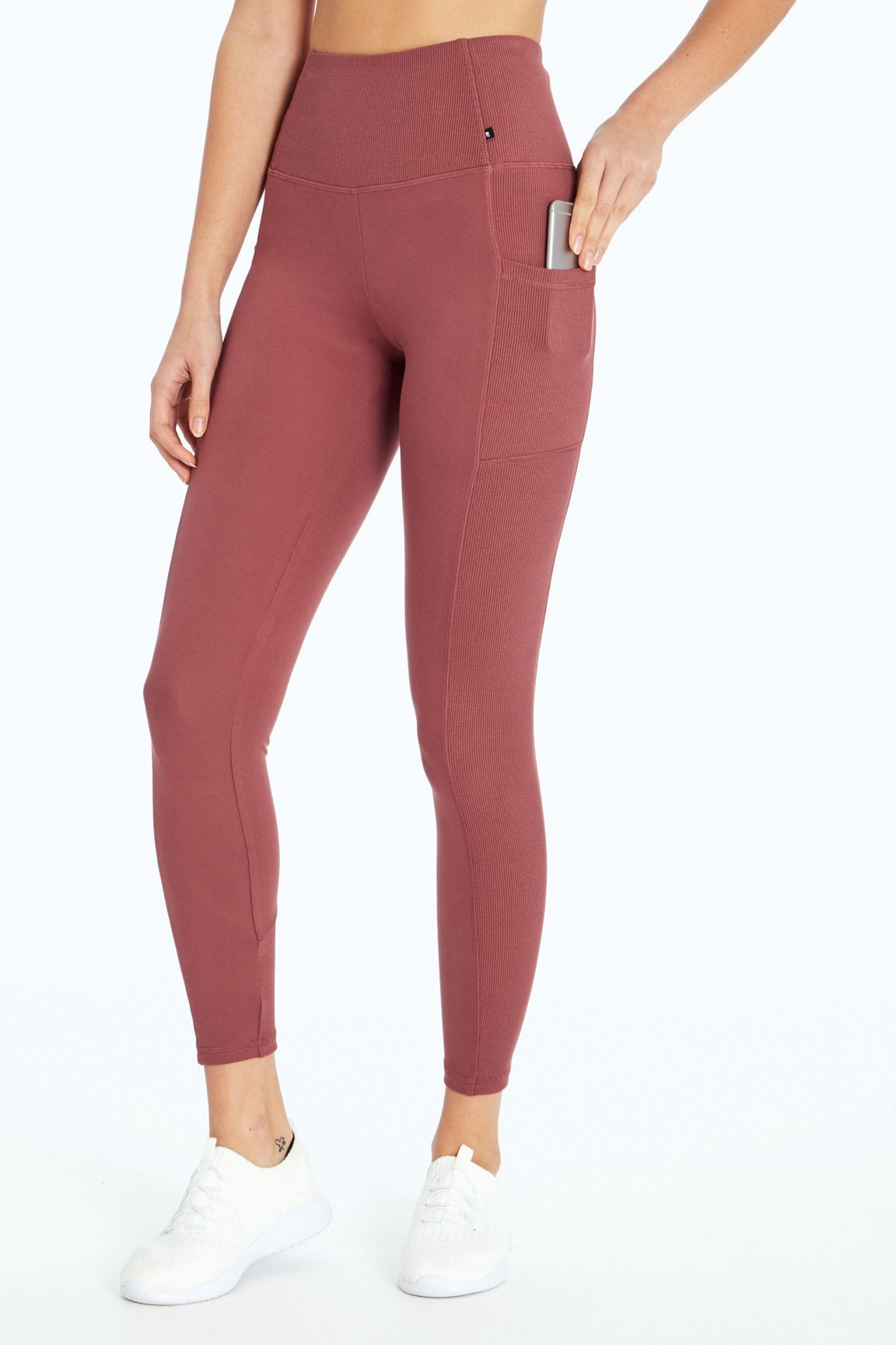 Ivanna Ribbed Legging (Crushed Berry)