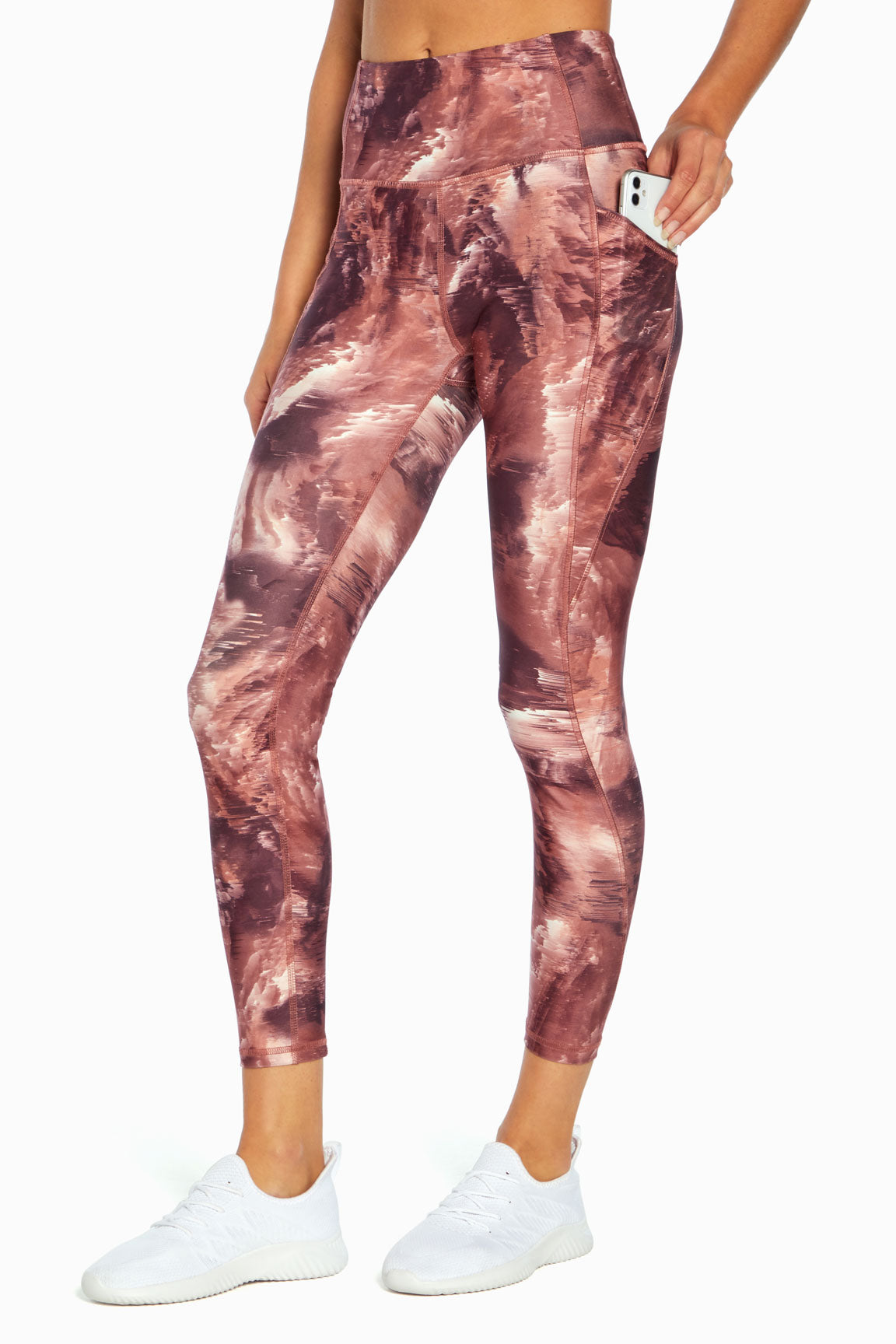 Sia Ankle Legging (Stormy Sky Burnt Russet)