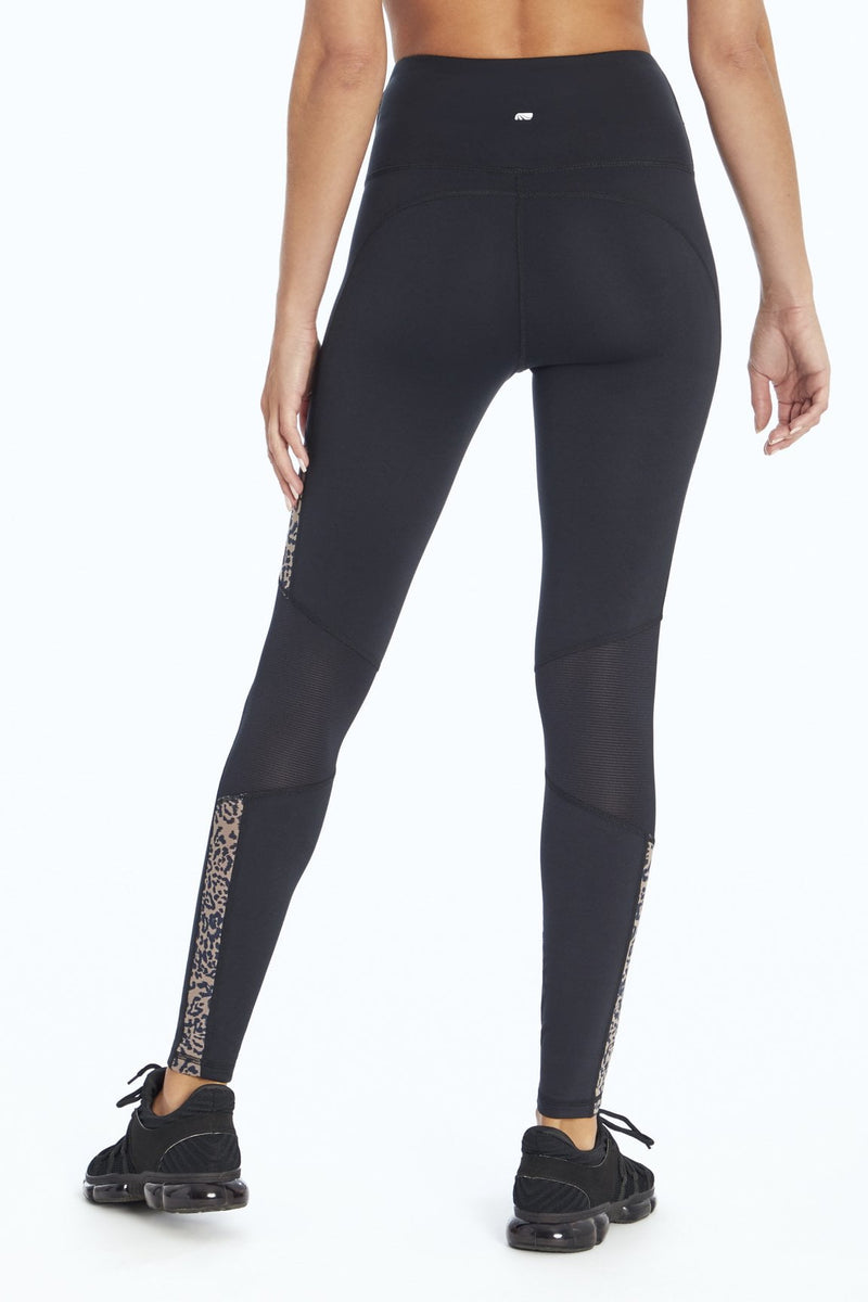 Clement Leggings (Black Simple Cheetah