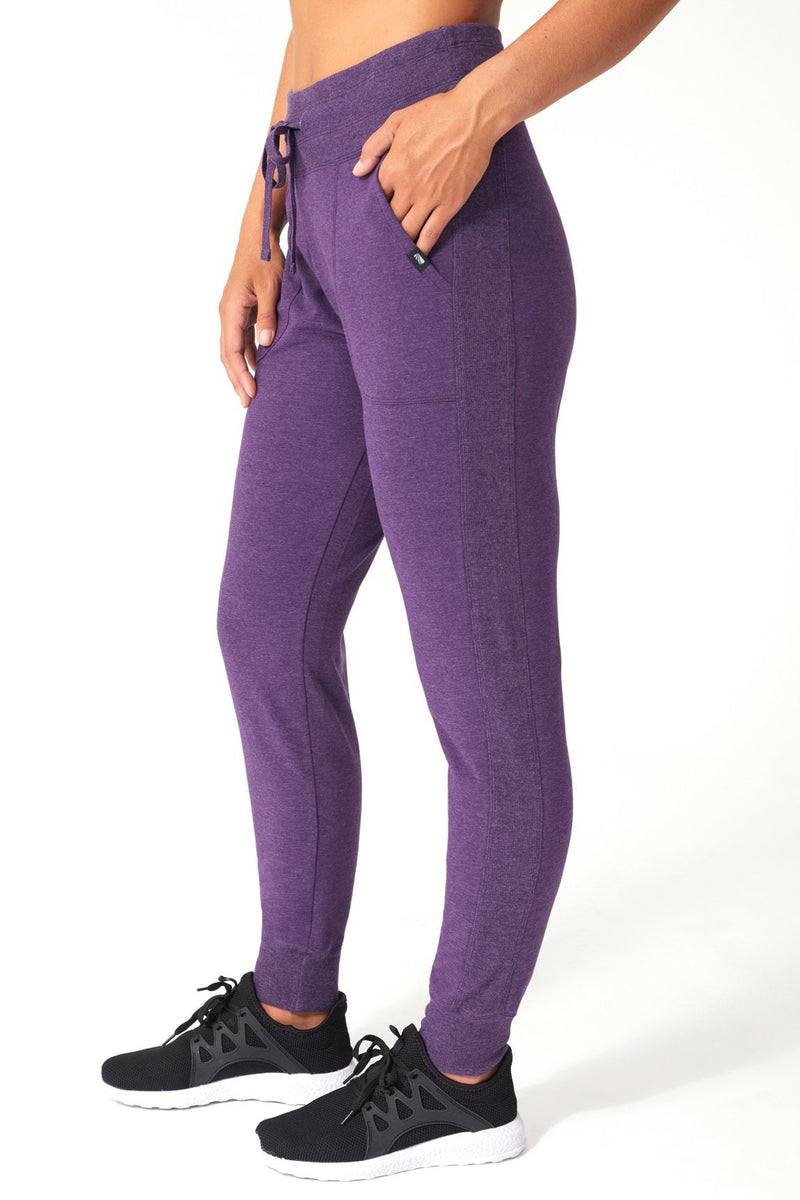 Jolene Jogger (heather blackberry cordial)