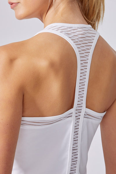 Breeze Singlet (White)