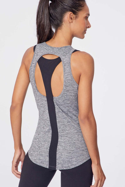 Mari Singlet (Heather Black)
