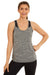 Kacie singlet (Heather Black)