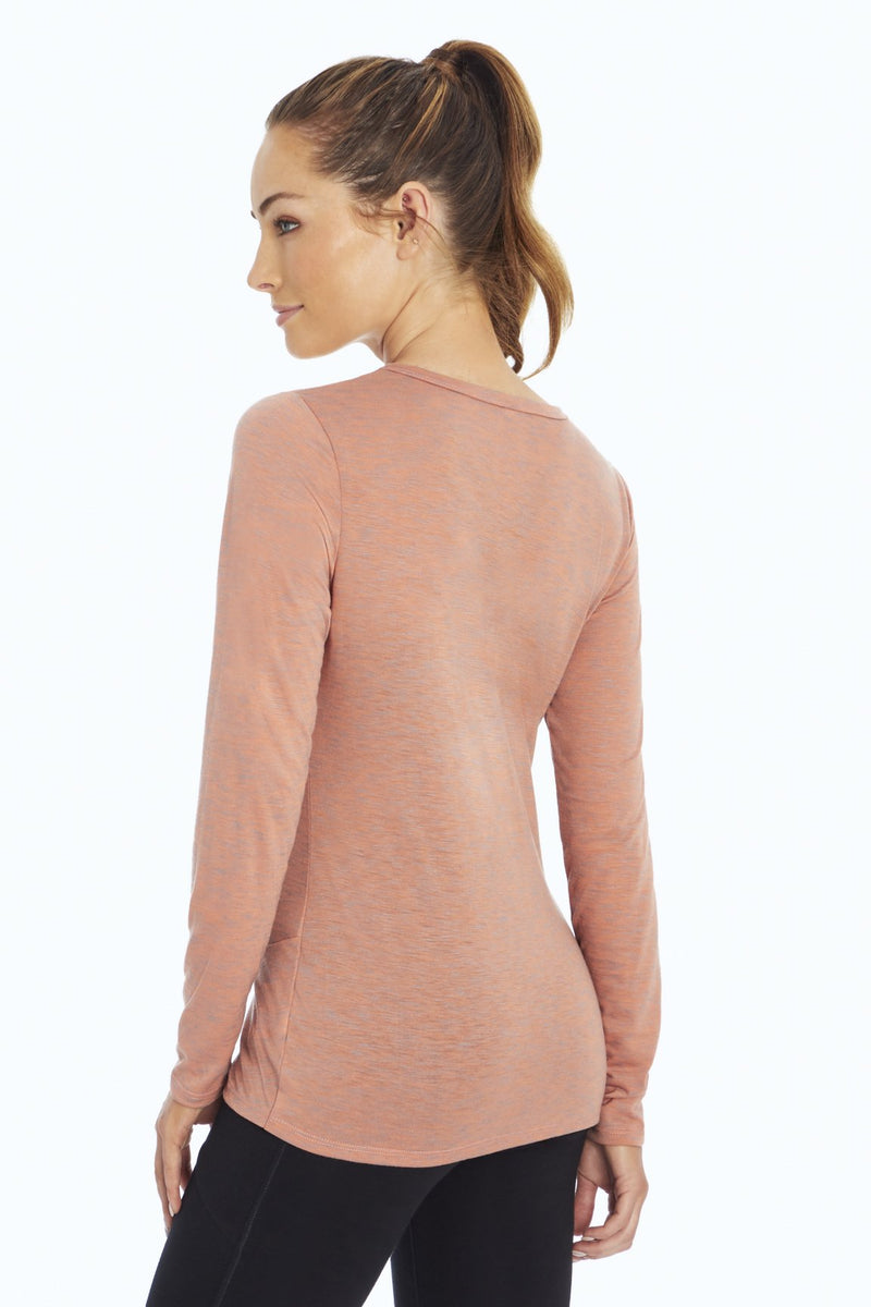 Grace Long Sleeve Tee (H. Canyon Clay)