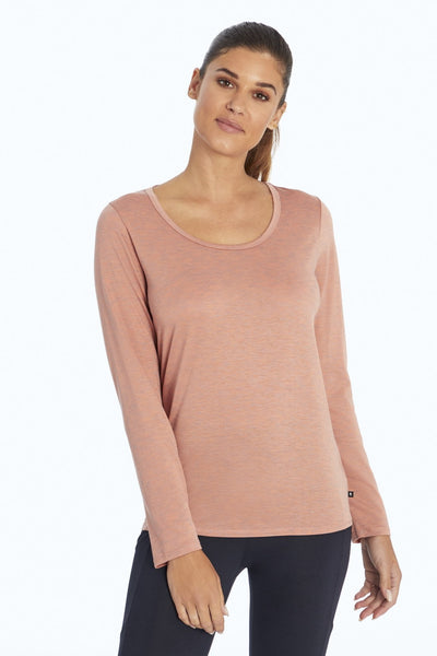 Super Long Sleeve Top (H. Canyon Clay)
