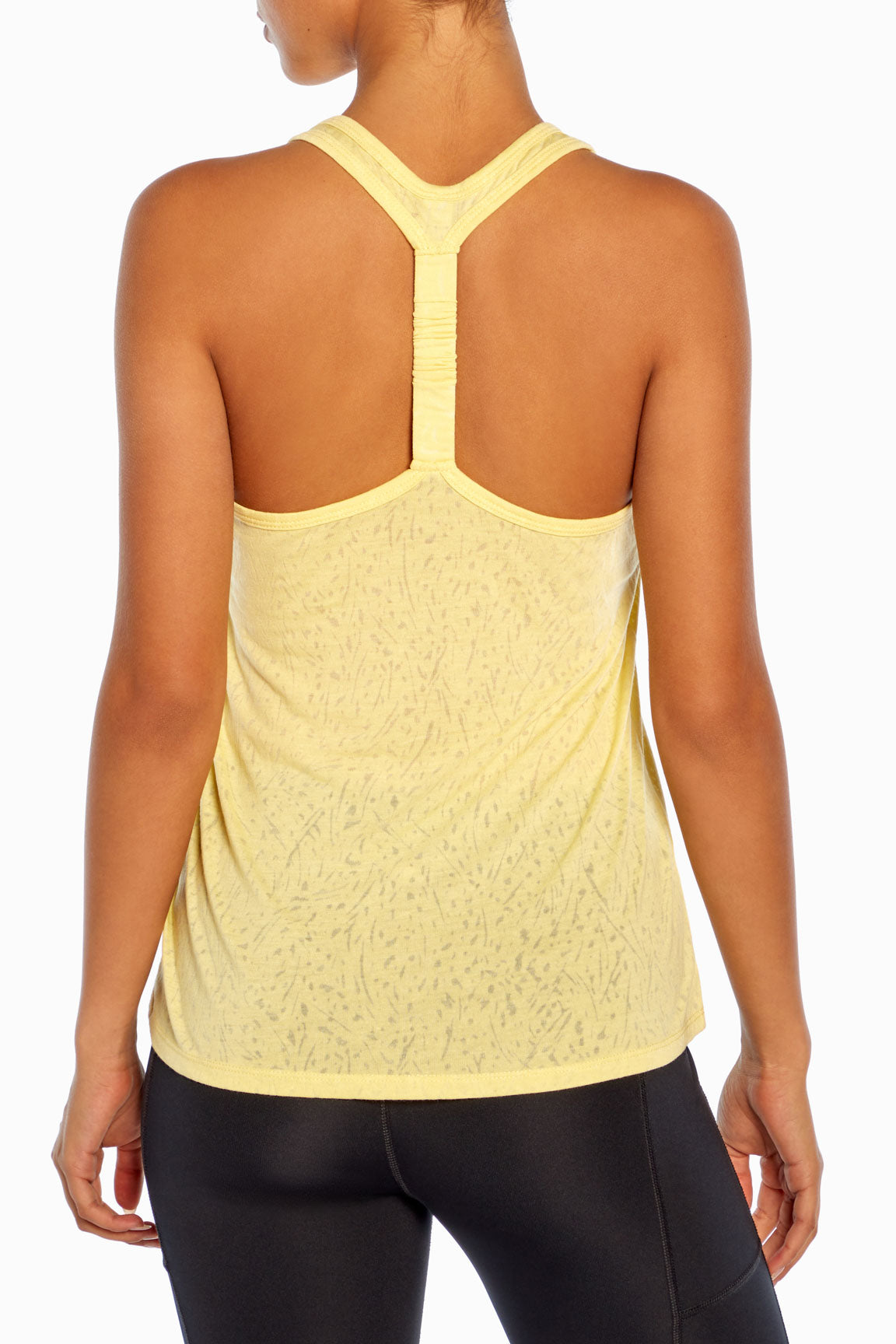 Scrunch Tank (Pale Banana)