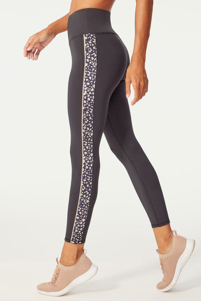 Piper Legging (Black/ Black Torn Animal)