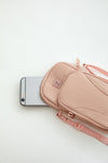 Zobha Crossbody Sport Bag (BLUSH)
