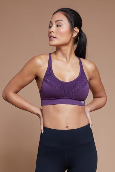 Skylar Sports Bra (deep purple)