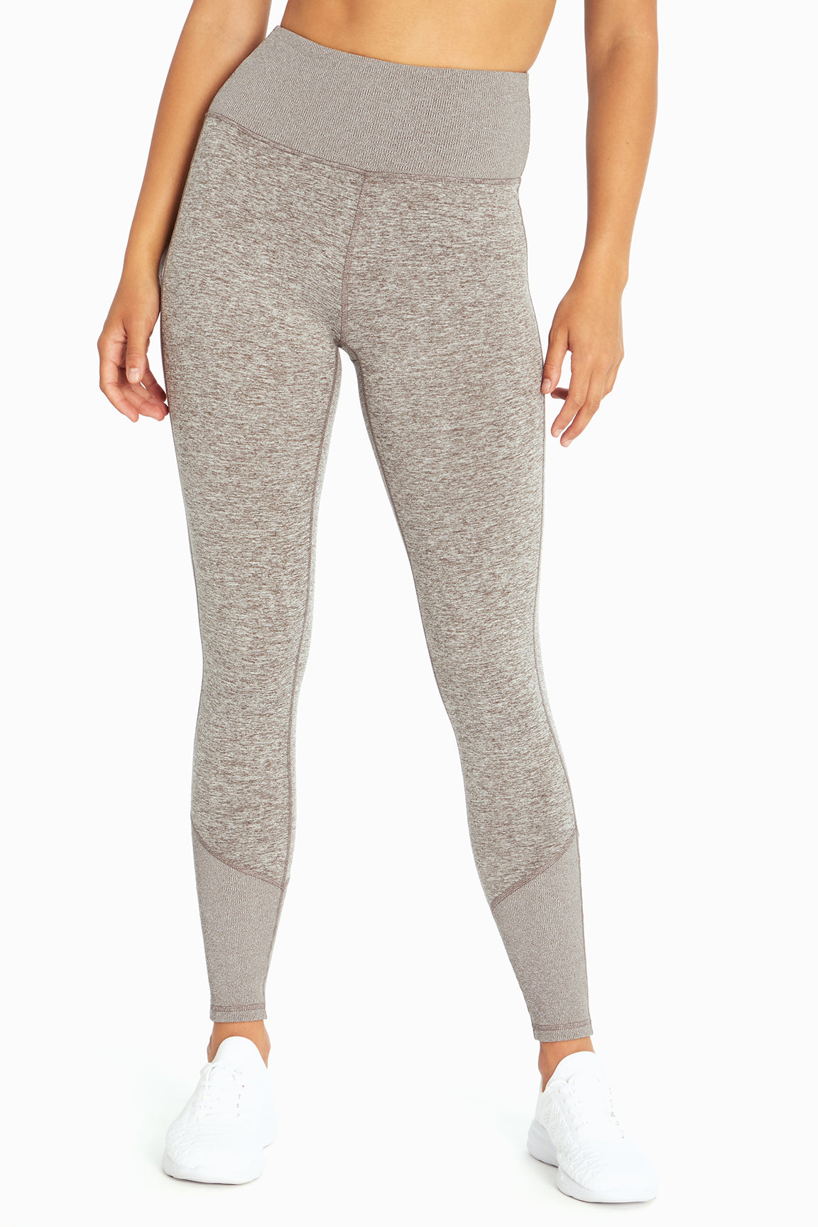 Cozy Heather Legging (H. Plum Kitten)