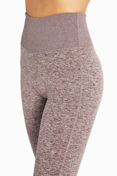 Cozy Heather Legging (Heather Fig)
