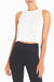 Essie Crop Tank (White)
