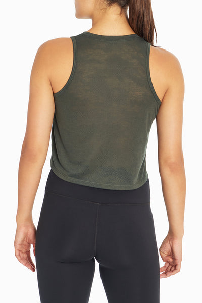 Essie Crop Tank (Rosin Camo Dot Burnout)