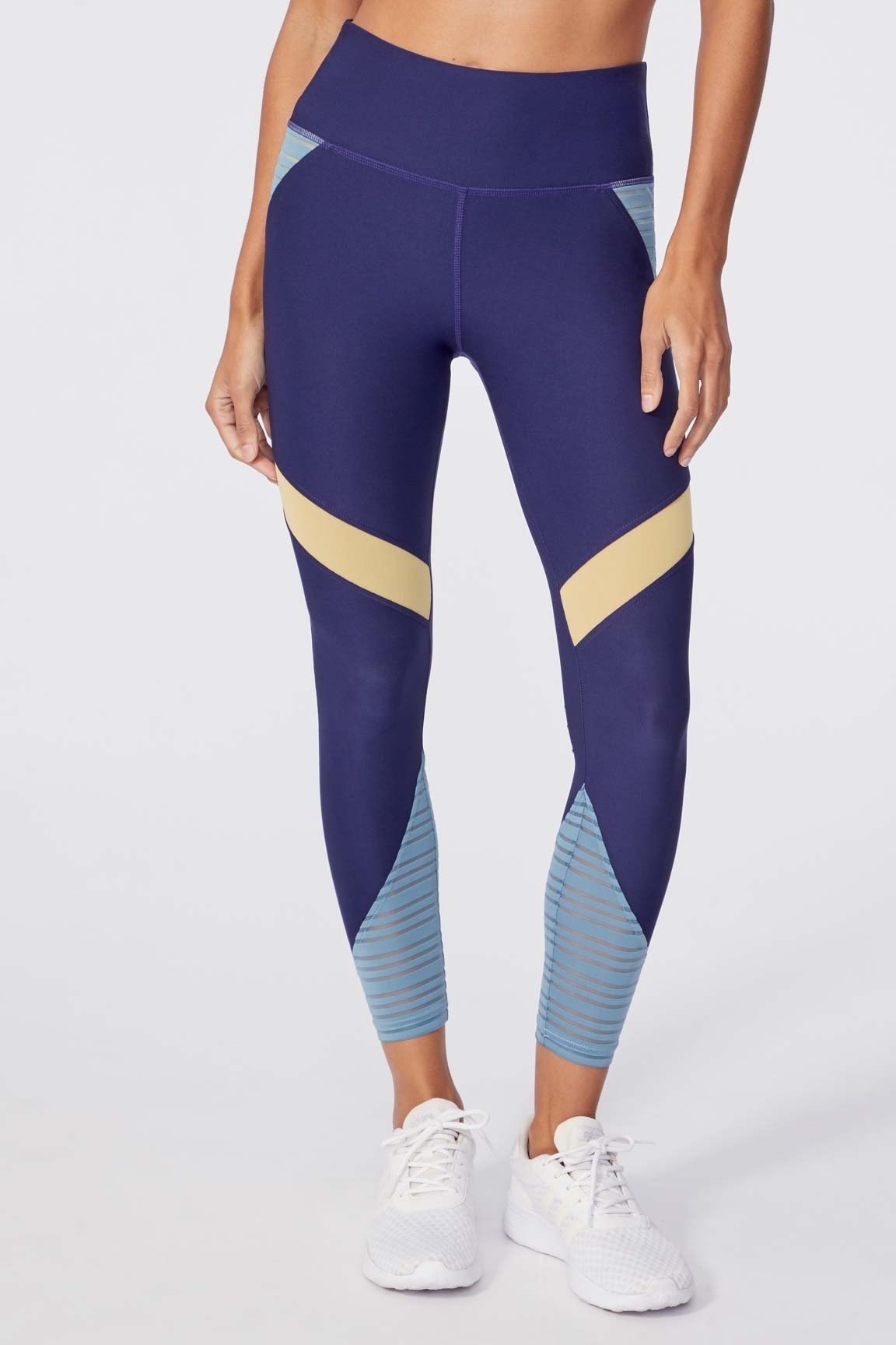 "Chrissy 25"" Legging (Eclipse/ Smoke Blue)"