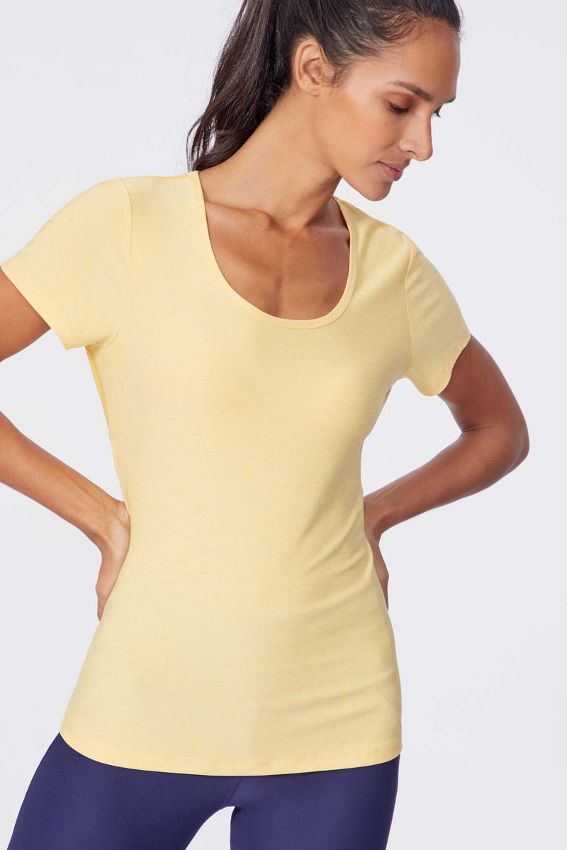 Kenwood Tee (Heather Yellow)