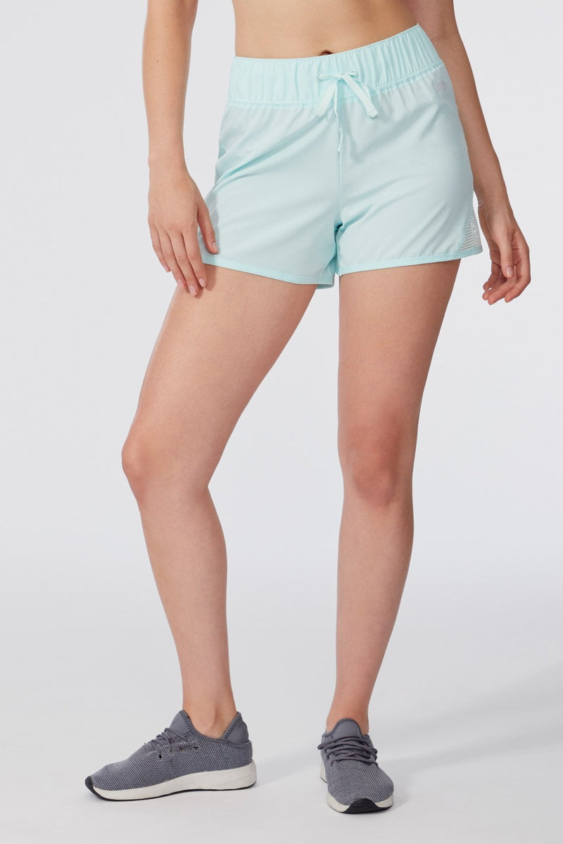 Jaime Run Short (Fair Aqua)