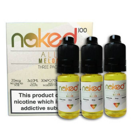 All Melon - 10ml (3 Pack) by Naked 100 eJuice By Schwartz