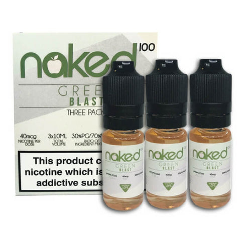 Green Blast - 10ml (3 Pack) by Naked 100 eJuice By Schwartz