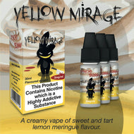Yellow Mirage by Psycho Bunny eJuice [10ml TPD Bottle] at VapeRanger UK Wholesale