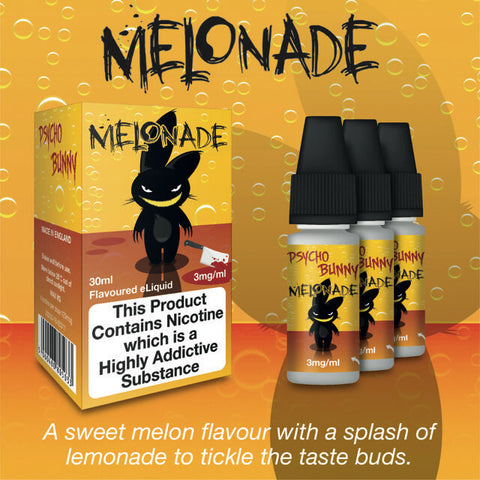 Melonade by Psycho Bunny eJuice [10ml TPD Bottle] at VapeRanger UK Wholesale
