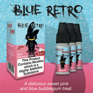 Blue Retro by Psycho Bunny eJuice [10ml TPD Bottle] at VapeRanger UK Wholesale