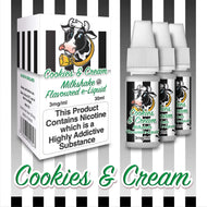 Cookies & Cream by Milkshake Flavored E-Liquids [10ml TPD Bottle] at VapeRanger UK Wholesale