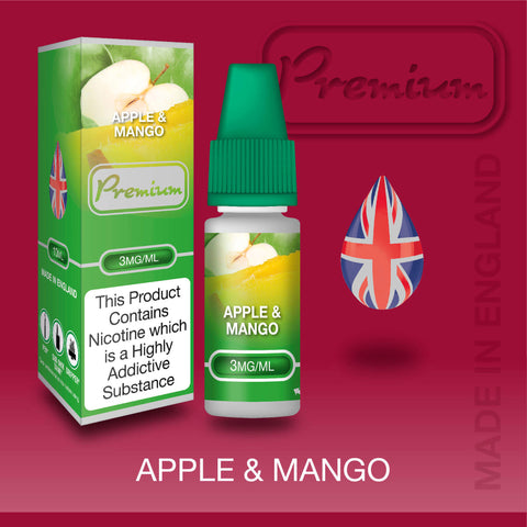 Apple & Mango by Premium eJuice [10ml TPD Bottle] at VapeRanger UK Wholesale