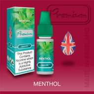 Menthol by Premium eJuice [10ml TPD Bottle] at VapeRanger UK Wholesale