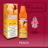 Peach by Premium eJuice [10ml TPD Bottle] at VapeRanger UK Wholesale
