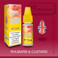 Rhubarb & Custard by Premium eJuice [10ml TPD Bottle] at VapeRanger UK Wholesale
