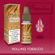 Rolling Tobacco by Premium eJuice [10ml TPD Bottle] at VapeRanger UK Wholesale