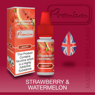 Strawberry & Watermelon by Premium eJuice [10ml TPD Bottle] at VapeRanger UK Wholesale