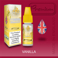 Vanilla by Premium eJuice [10ml TPD Bottle] at VapeRanger UK Wholesale