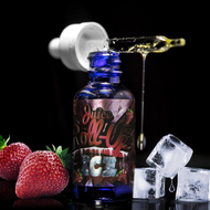 Strawberry Iced by Juice Roll Upz eJuice at VapeRanger UK Wholesale